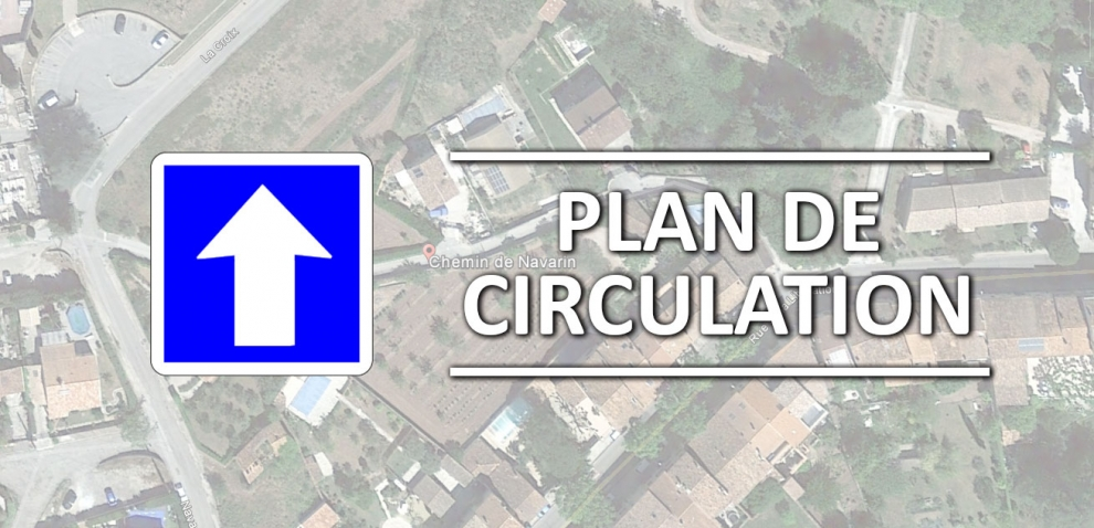 Modification termporaire du plan de circulation