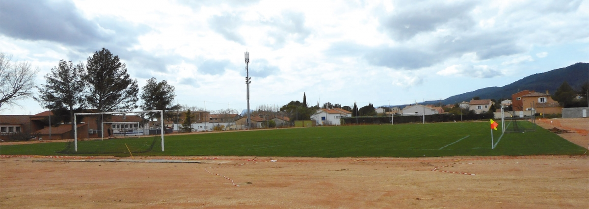 Réfection du stade municipal